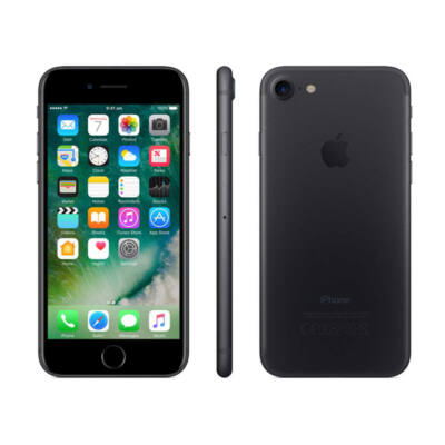 Apple iPhone 7 32GB black felújított/refurb