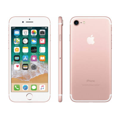 Apple iPhone 7 32GB rosegold használt/used A-